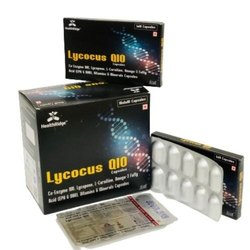 Coenzyme QIO, Lycopene, L-Carnitine, Omega-3 Fatty Acids (EPA & DHA), Vitamins & Minerals Capsules
