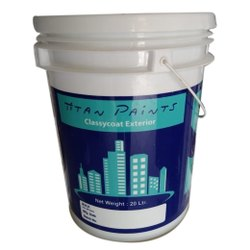 Titan Exterior Wall Paint with services of home painting, Bucket, Packaging Size: 20L