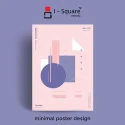 5 Days Digital minimal poster design