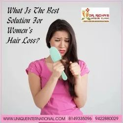 What Is the Best Solution For Women's Hair Loss ?
