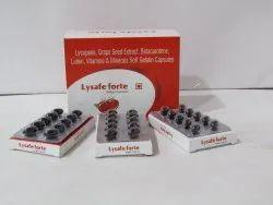 Lycopene 5000mcg Grape Seed VitA 5000 IU Vit C 50 mg VitaminE 10 mg Seleniumdioxide 70 mcg Zinc Sul