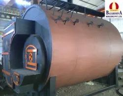 Husk Fired 3000 Kg/hr Steam Boiler IBR Approved