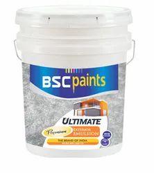 Acrylic Interior Wall Finish BSC Ultimate Premium Plus Exterior Emulsion 20 Ltr, Bucket, Roller,Brush