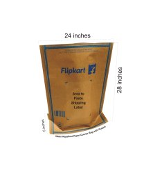 Flipkart Paper Bag. PB 7(28x24 Inch)Lip Lock