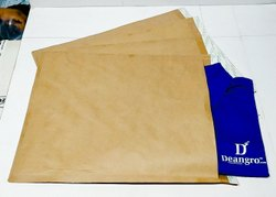 Plain Brown kraft Paper Bag(9.5x12.5 Inch)LipLock