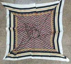 Satin Printed Square Scarves