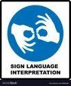 5 Days English Sign Language Interpreting Service, Delhi