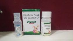 Adpoxime Dry Syrup With Water ( Cefpodoxime Proxteil 50mg With Water)