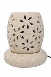 Beige Ceramic Electric Aroma Oil Diffuser