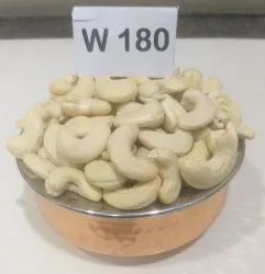 Natural Wholes Plain Cashew Nuts, Grade: W180