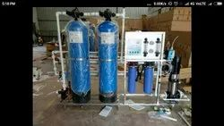 DET Reverse Osmosis Water Purification Systems, Water Storage Capacity: 2000 L