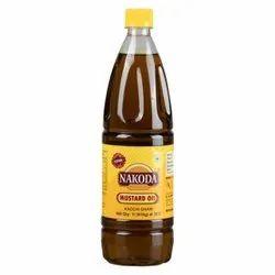 Nakoda Kachi Ghani Mustard Oil, Packaging Type: Plastic Bottle, Packaging Size: 1 Litre