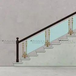 Staircase Glass Railing Designs