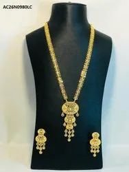 Indian Gold Plated Jewelry Necklace set