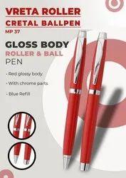 Gloss Body Vreta Roller Cretal Ball Pen
