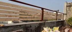 Iron Boundary Railing, For Home