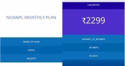 Jamshedpur Fiber NOANPL Monthly Plan Unlimited