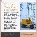 2 Tower Lift Mixer Machine