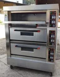 Alzain Brand 3 Deck 6 Tray Elecric Oven