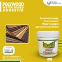 Polywood White Adhesive (For Pasting PVC Panels)