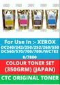 CTC FOR Xerox dc250 Color Toner CYMK