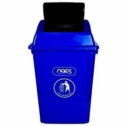 Plastic Trash Bin Swing Lid Type