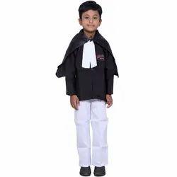 Black and White Kids Advocate Costume