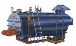 Oil & Gas Fired 5000 Kg/hr Fully Wetback Steam Boiler IBR Approved