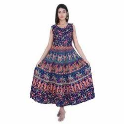 Badmeri Print Women Dress