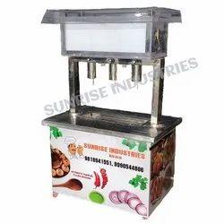 Hygienic Pani Puri Automatic Machines
