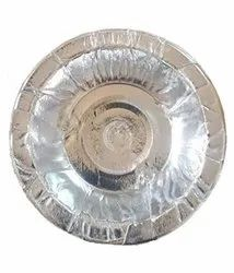 Plain Silver Paper Bowl