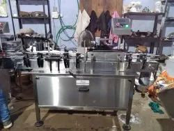 Automatic Sticker Labeling Machine With Online Pneumatic Batch Coding