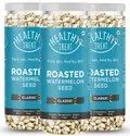 Healthy Treat Roasted Watermelon Seeds - Classic 375gm - Pack Of 3 125 Gm Each