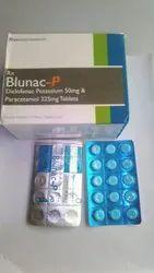 Diclofenac Potassium 50mg & Paracetamol 325mg Tablets