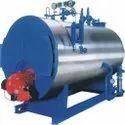 Oil & Gas Fired 750 kg/hr Horizontal Steam Boiler