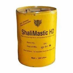 High / Low Build Anti-Corrosive Coal Tar Based Coating-Shalimastic HD