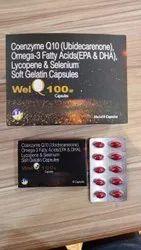 Coenzyme Q10 Omega 3 Fatty Acids Lycopene & Selenium Soft Gelatin Capsules