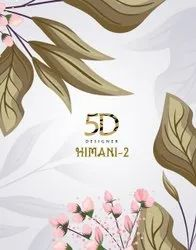 Party Wear 5D Designer Himani Vol 2 Presents By Saree, With blouse piece