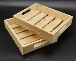 Pinewood Packing Tray