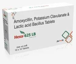 Amoxycillin 500mg & Clavulanic Acid 125mg with LB