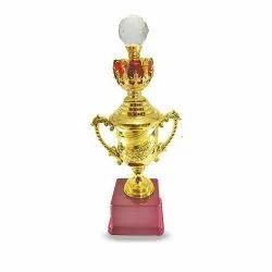 Fibre Crystal Ball Award Trophy