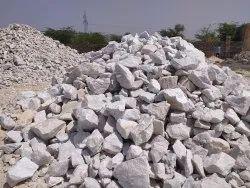Snow White Quartzite Lumps, Size: 30-150 mm