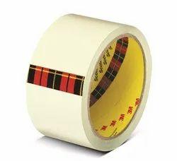 Scotch White 3M Bopp Clear Packaging Tape 2 Inch X 50m
