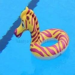 Zebra Animal Shape Swimming Ring