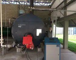Electric 1000 Kg/hr Shell Type Tube Steam Boiler