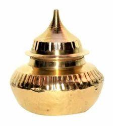 Metal Brass Kumkum Box / Kumkum Dibbi For Wedding & Corporate Gift