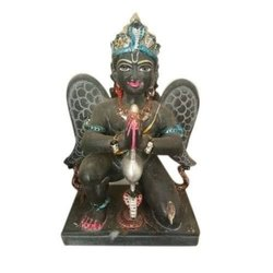 Marble Garuda Bhagwan Statue