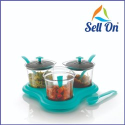 Plastics Multipurpose Dining Achar Jars