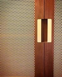 Indomesh Slot Hole Brass Light Perforated Sheet, For Industrial