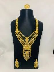 1 GM GOLD PLATED NACKLACE SET